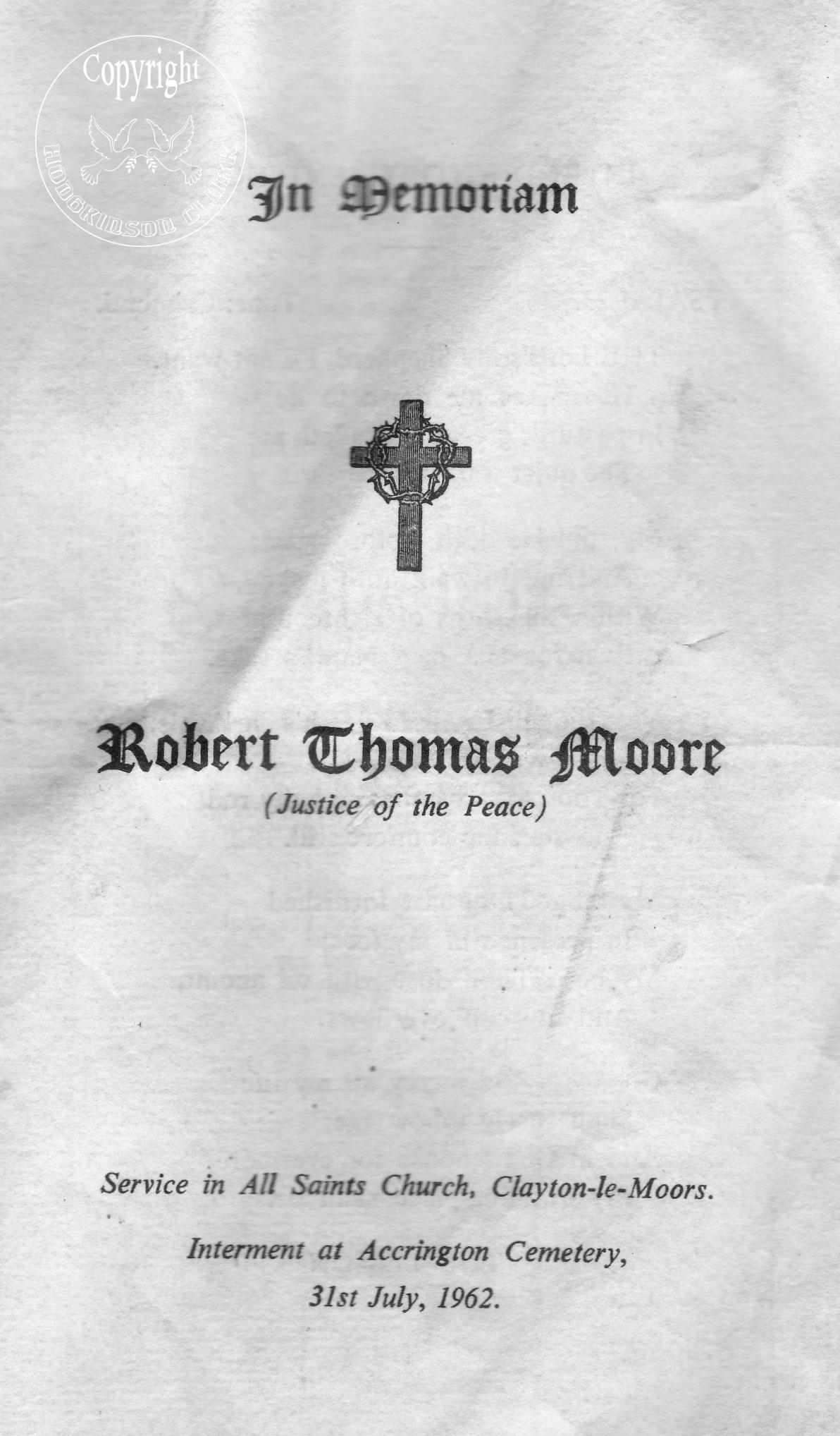 Robert Thomas Moore